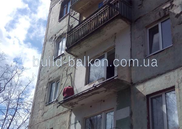 Французский балкон харьков. французское остекление - цена 20.